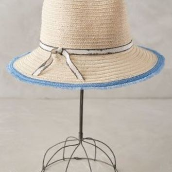 Eugenia Kim Rose Street Rancher in Sky Size: One Size Hats