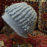Gorgeous one of a kind HANDMADE Crochet Hat cozy Fall Autumn Winter Spring Fashion Accessories // Bulky hat // Ready to be shipped TODAY