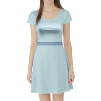 Wendy Darling Peter Pan Inspired Short Sleeve Skater Dress
