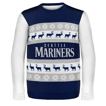 Seattle Mariners - One Too Many Ugly Christmas Sweater