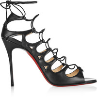 Christian Louboutin - Aqueduchesse 100 leather sandals
