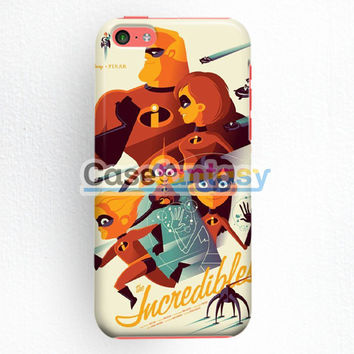 The Incridible Art Disney Poster Heroes iPhone 5C Case | casefantasy