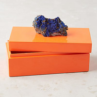 Geode-Topped Box