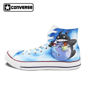 Men Women Converse All Star Custom Anime Shoes