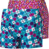 ASICS Modern Maze Reversible Volleyball Spandex Short - Volleyball.Com