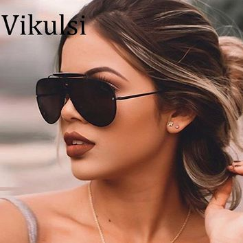 Luxury Vintage Aviator Sunglasses Women Brand Designer Female Sunglass Pilot Sun Glasses For Men Round Sunglass Mirror Shades