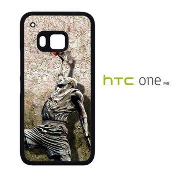 DCKL9 Michael jordan slam dunk carbonite V0979 HTC One M9 Case