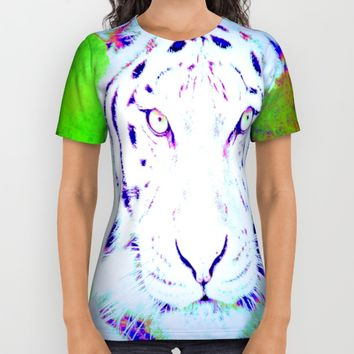the tiger  All Over Print Shirt by Jessica Ivy