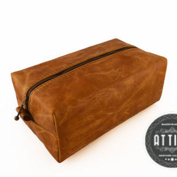 FREE PERSONALIZED Leather Dopp kit
