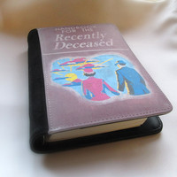 Beetlejuice Handbook for the recently deceased journal book notebook wallet holder