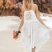 Isla Bonita Embroidered Dress
