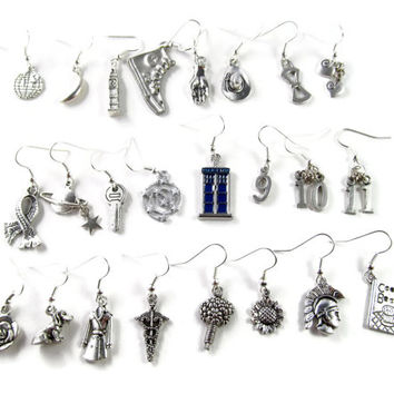 Timey Wimey:  A Doctor Who Mix & Match Earring Set