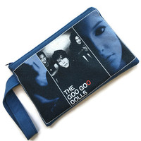 Goo Goo Dolls Bag Upcycled T-shirt Purse Let Love In Clutch Wristlet