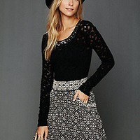 Free People Clothing Boutique > Carpet Bag Circle Skirt
