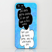 Hurt iPhone & iPod Case by Sierra Christy Art | Society6