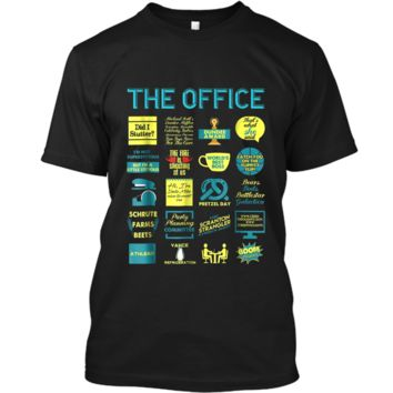 The Office Quote Mash-Up Funny  - Official Tee Custom Ultra Cotton