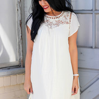 Let It Be Dress: White