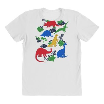 dinosaurs All Over Women's T-shirt