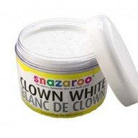 Clown White Face Paint from Snazaroo, 50ml Size