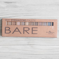 City Cosmetics Silky Eyeshadows Palette