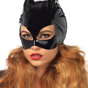 Leg Avenue Female Vinyl Cat Woman Mask V1013