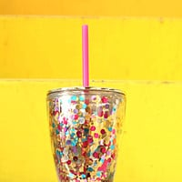 3 Happy Hooligans: Confetti 12oz Tumbler