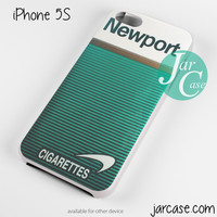 newport cigarette green Phone case for iPhone 4/4s/5/5c/5s/6/6 plus