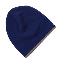 Desanto Men's Classic Wool Beanie - Blue