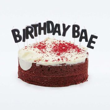Birthday Bae Candles - Urban Outfitters