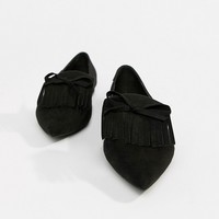 ASOS DESIGN Lorrie loafer ballet at asos.com