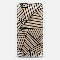 Abstraction Lines Zoom Transparent iPhone 6 case by Project M | Casetify