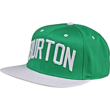 Burton Beer League Snapback Hat Online Lime, One Size