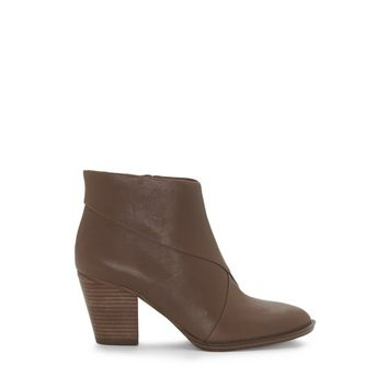 VINCE CAMUTO BEZZA – STACKED-HEEL BOOTIE