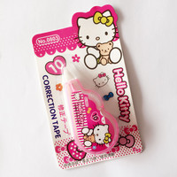 P19 Cute Kawaii Hello Kitty Correction Tape Eraser School & Office Supply Student Stationery Kids Gift