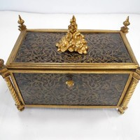 Late 19th Century French Gothic Revival Casket
