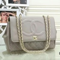 GUCCI tide brand ladies fashion bags F-LLBPFSH Gray