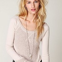 Free People Crop Top Sweater