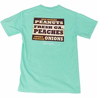 The Good Stuff Short Sleeve Tee in Island Reef by Peach State Pride