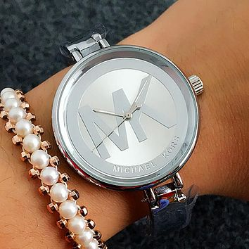 MK Michael Kors Fashion Women Movement Simple Watch Wristwatch I-Fushida-8899