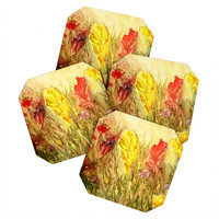 Rosie Brown Wild Thing Coaster Set