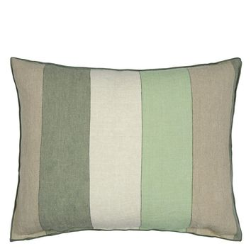 Designers Guild Brera Gessato Jade Decorative Pillow