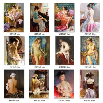 5D Diamond Painting Mosaic diy Full Nude Paintings Girl
