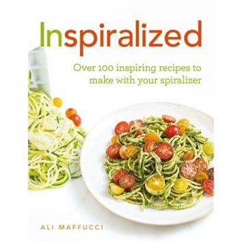 InSpiralized in cooking books at Lakeland