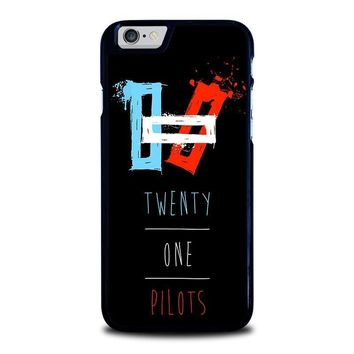 twenty one pilots symbol iphone 6 6s case cover  number 1