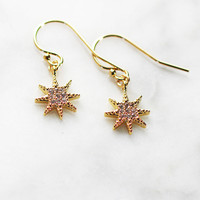 STARBRITE DROP EARRINGS - Christine Elizabeth Jewelry™