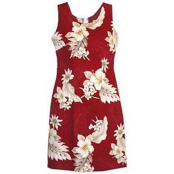 chili hawaiian tank dress