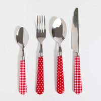 SET OF PARTY FLATWARE (16-PIECE SET) - Last week - New Arrivals | Zara Home United States
