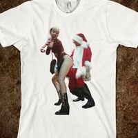 MILEY CYRUS HOE HOE HOE CHRISTMAS SHIRT
