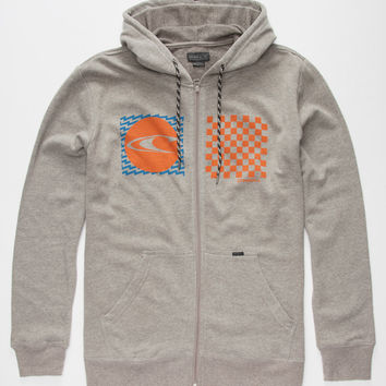 O'neill Stateside Mens Hoodie Grey  In Sizes