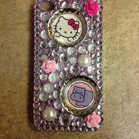 Customized Hello Kitty iPhone 4/4s case